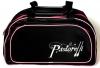 Sport bag Alina Junior, Black-Pink, Art. 02427