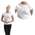 T-Shirt - VITA DA GINNASTA Line (Hoop)