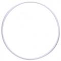 Gym Hoop PASTORELLI RODEO 70 cm, color: white, Art. 00304