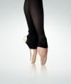 Body Wrappers totalSTRETCH® C82 (Girls) Stirrup tights, Color: Black