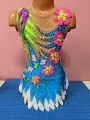 Leotard for competitions. For height: 124-134 cm