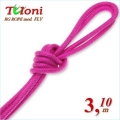 Competition Rope Tuloni mod. Fly. Color Fuchsia, Art.T0194