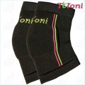 Knitted Knee Supporter Tuloni mod. KPW s. Junior col. Black
