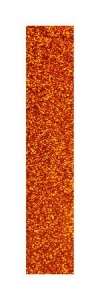 Pastorelli Glitter adhesive stripe. Colour: Orange, Art. 00272