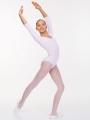Classic 3/4 Sleeve Gymnastics Leotard SOLO FD927-106 (White)