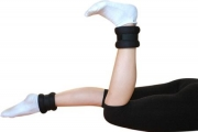 Ankle/wrist weights with velcro closure, 1 kg, Art. 20232