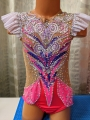Leotard for competitions, new. For height: 118-128 cm