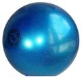 Iluvõimlemis pall Tuloni 16 cm. Colour: Blue Glitter
